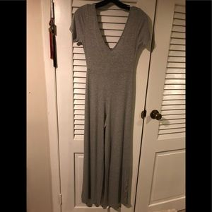 Gray Jumpsuit Rolla Coster